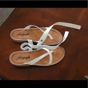 Free People Leather Sandles